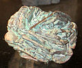 Copper pseudomorph after azurite (New Mexico, USA) (17296029015).jpg
