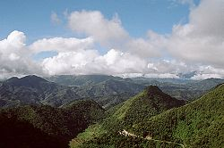 Cordillera Central Mountain Range