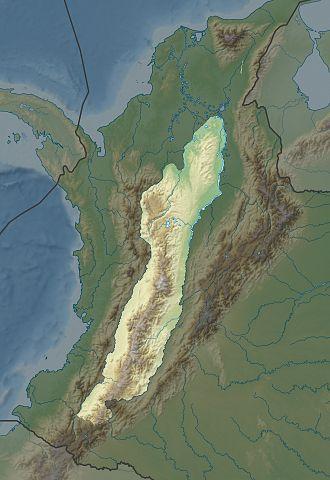 Cordillera Central (Colombia) - Image: Cordillera Centrale de Colombia