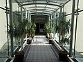 Corinthia Hotel Budapest. Glass bridge to the Valletta Exhibition Centre.JPG