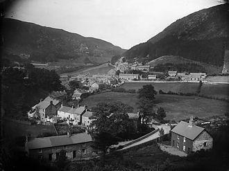 Corris - Corris circa 1885.