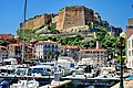Corse du Sud, Bonifacio 6 le port et le Bastion (5789019797).jpg