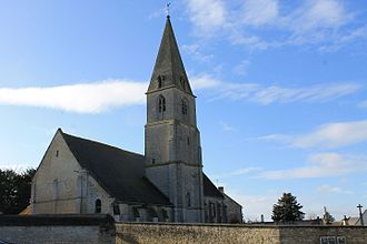 Coulombs, Calvados - Image: Coulombs église St Vigor