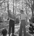 Country Club For US Airmen- Rest and Recuperation in the English Countryside, Stanbridge Earls, Romsey, Hampshire, 1943 D14549.jpg