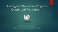 Country of The Month - Georgian Wikipedia.pdf