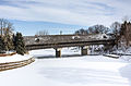 Covered bridge, Frankenmuth, Michigan, 2015-01-11 01.jpg
