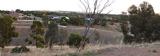 Craigmore, South Australia - Beatrix Avenue, Craigmore, with Para Substation in the background