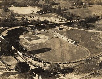 Cramton Bowl - Cramton Bowl during a baseball game in the 1920s or 1930s