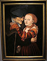 Cranach il vecchio, coppia diseguale (il vecchio buhler) 1528, kronach, Fränkische galerie.JPG