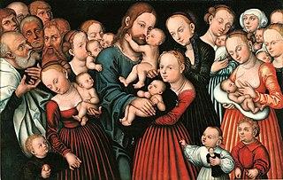 Chrystus błogosławiący dzieci
