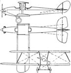 Cranwell CLA IV 3-view Le Document aéronautique October,1926.png