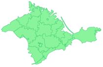 Crimea AR regions green.png