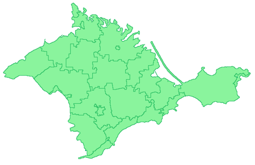 Crimea AR regions green.png