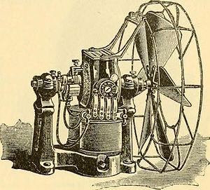 Schuyler Wheeler - Crocker-Wheeler electric fan, 1892