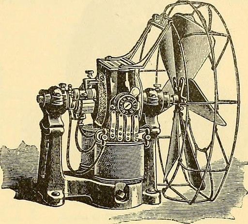 Crocker-Wheeler electric fan
