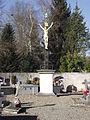 Croix monumentale du cimetière de l'église d'Azereix (Hautes-Pyrénées, France).JPG