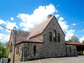 Elmhurst Township, Lackawanna County, Pennsylvania - Cross Road Assembly of God Church
