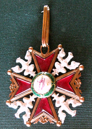 Cross of the Polish Order of Saint Stanislaus from XVIII century.png