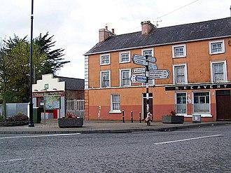 Glenamaddy - Cross roads in Glenamaddy