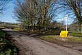 Crossroads to St Hilary and Llantrithyd - geograph.org.uk - 2271681.jpg