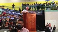 File:Crowd Cheers as Bernie & Jane Sanders Arrive at Santa Fe, NM, Rally. May 20, 2016.webm