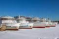 Cruise Ships in Winter at Khimki Reservoir Starboard View 10-feb-2015.jpg