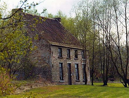 Van Gogh's home in Cuesmes; while there he decided to become an artist
