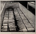 Curd in the vats of a Turin cheese factory, photo from The Encyclopedia of Food by Artemas Ward.jpg