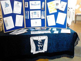 Catholic Women's League - A stall for the CWL at Saint Pancras Church, Ipswich