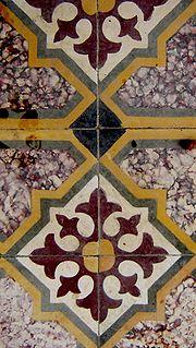 Cyprus floor tile