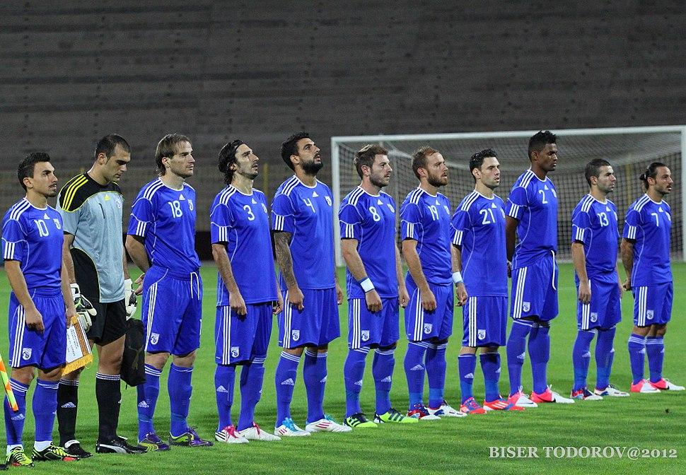 Cyprus national football team 2012