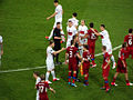 Czech Republic - Poland end of the match - Euro 2012.jpg