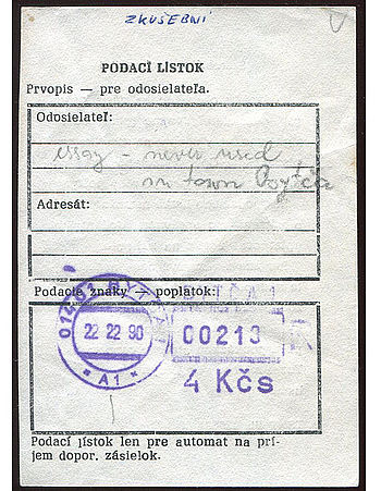 Czechoslovakia stamp type PV2 NOTE.jpg