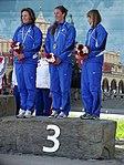 Czeskie kajakarki w konkurencji K1 (9212193689).jpg
