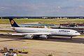 D-AIGB A340-311 Lufthansa FRA 29AUG99 (5920824805).jpg