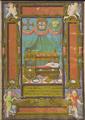 D. Sebastião recém-nascido, in Sentenças para a Ensinança e Doutrina do Príncipe (1554) - possivelmente por António ou Francisco de Holanda.png