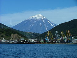 Skyline of Petropavlovsk-Kamchatsky