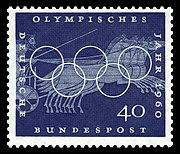 DBP 1960 335 Olympische Spiele