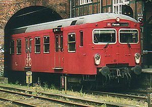 S-train (Copenhagen) - 2nd generation S-train, August 2001