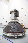 DSCOVR in Astrotech's payload processing facility, Titusville (KSC-2015-1241).jpg