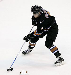 Washington Capitals - Dainius Zubrus had a career years with the Capitals in the 2005–06. Zubrus recorded 57 points during that season.