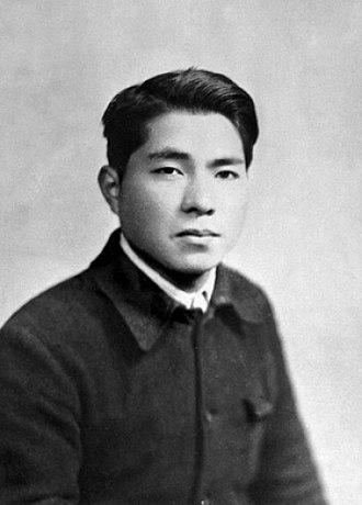 Daisaku Ikeda - Daisaku Ikeda at age 19