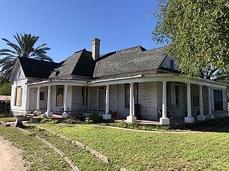 Dale Evans - Dale Evans' childhood home in Uvalde, TX