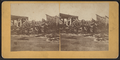 Damaged railroad trestle, from Robert N. Dennis collection of stereoscopic views.png