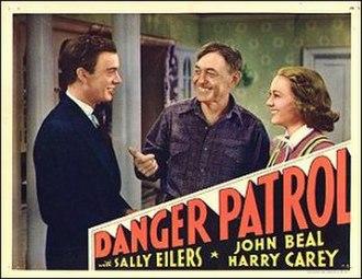 Danger Patrol - Lobby card for the film