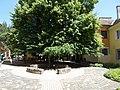 Danube museum, courtyard in Esztergom, Hungary.jpg