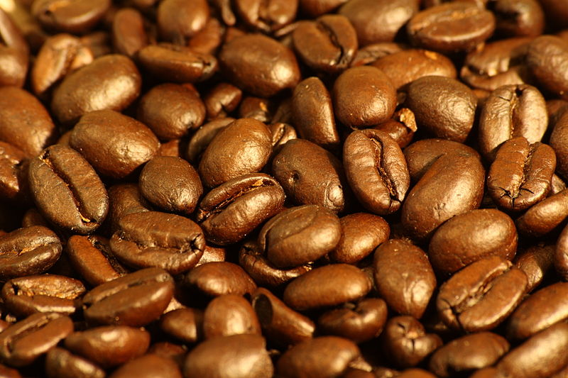 File:Dark roasted espresso blend coffee beans 1.jpg
