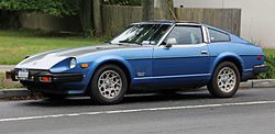 Datsun 280ZX Turbo in blue and silver.jpg