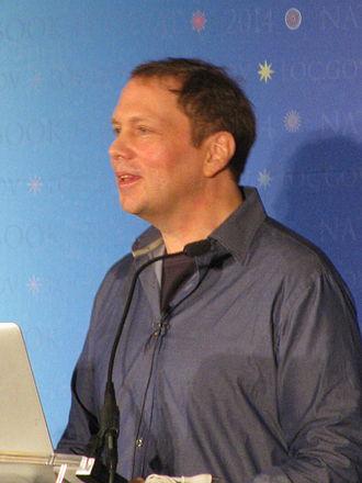 Dav Pilkey - Pilkey at the 2014 National Book Festival