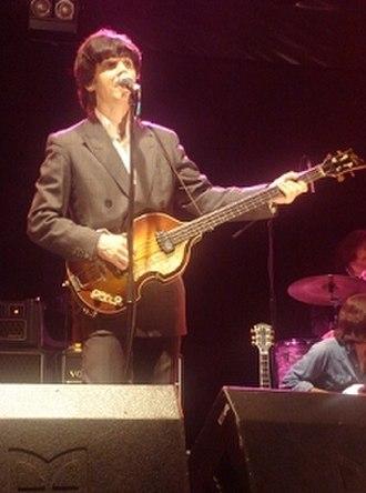 David Catlin-Birch - Catlin-Birch performing as Paul McCartney in The Bootleg Beatles (2006)